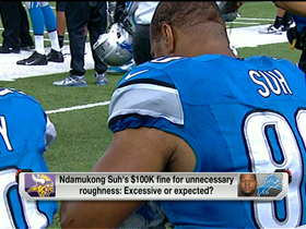 Video - Is Detroit Lions defensive tackle Ndamukong Suh's fine acceptable or excessive?