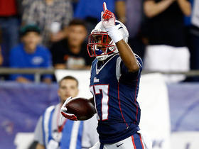 Video - New England Patriots quarterback Tom Brady 39-yard touchdown pass