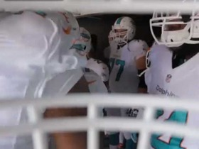 Video - Miami Dolphins helmet cam