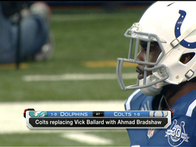 Video - The lights are on Indianapolis Colts running back Ahmad Bradshaw