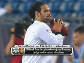 Video - New York Jets quarterback Mark Sanchez placed on injured reserve, designated to return