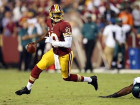 Video - Rust or rusty knee for Washington Redskins QB RGIII