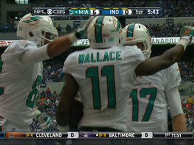 Video - Miami Dolphins wide receiver Mike Wallace first TD as a Dolphin
