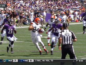 Video - Cleveland Browns tight end Jordan Cameron 53-yard reception