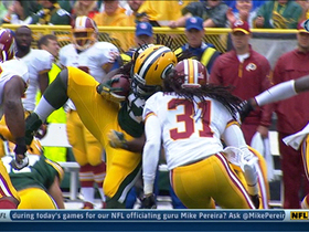 Video - Green Bay Packers running back Eddie Lacy suffers concussion