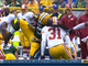 Watch: Lacy suffers concussion