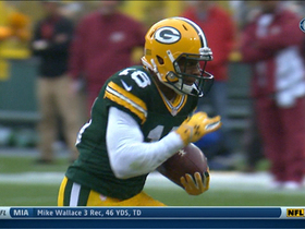 Video - Green Bay Packers wide receiver Randall Cobb 35-yard TD catch