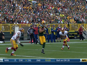 Video - Green Bay Packers wide receiver Jordy Nelson 14-yard TD catch