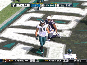 Video - Philadelphia Eagles wide receiver Riley Cooper 13-yard TD