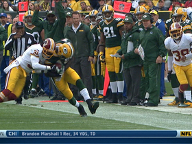 Video - Washington Redskins safety Brandon Meriweather injury