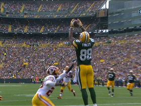 Video - Green Bay Packers tight end Jermichael Finley 3-yard TD grab