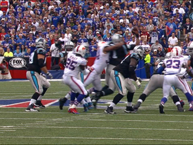 Video - Buffalo Bills defensive lineman Mario Williams' third sack of the half