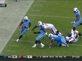 Video - Houston Texans quarterback Mat Schaub intercepted by Tennessee Titans safety Bernard Pollard