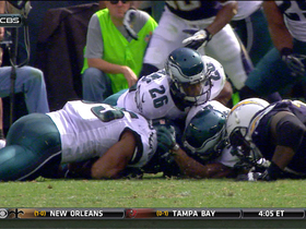 Video - Philadelphia Eagles Defense force Ryan Mathews to fumble