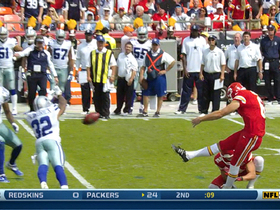 Video - Dallas Cowboys cornerback Orlando Scandrick blocks Chiefs' field goal attempt