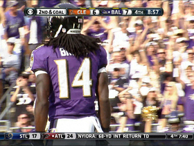 Video - Baltimore Ravens wide receiver Marlon Brown 5-yard TD reception
