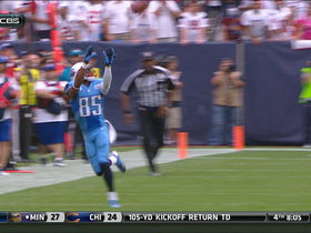 Video - Tennessee Titans wide receiver Nate Washington 31-yard catch