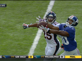 Video - New York Giants wide receiver Victor Cruz 51-yard catch