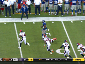 Video - New York Giants wide receiver Hakeem Nicks 34-yard catch