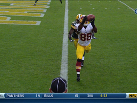 Video - Washington Redskins wide receiver Pierre Garcon 6-yard TD catch