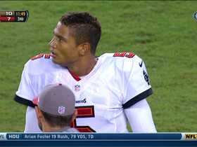 Video - Tampa Bay Buccaneers quarterback Josh Freeman fumbles after sack