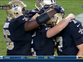 Video - New Orleans Saints defeat Tampa Bay Buccaneers on game-winning field goal