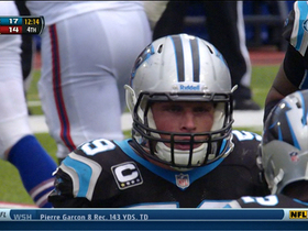 Video - Carolina Panthers linebacker Luke Kuechly intercepts EJ Manuel