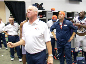 Video - John Fox locker room speech after win over Giants