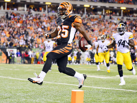 Video - Cincinnati Bengals running back Bernard 27-yard touchdown