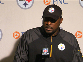 Video - Pittsburgh Steelers head coach Mike Tomlin: 'We got work to do'