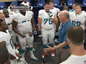 Video - Miami Dolphins swim in joy