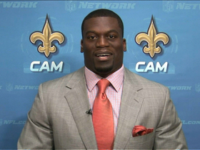 Video - Bad weather day for New Orleans Saints tight end Benjamin Watson