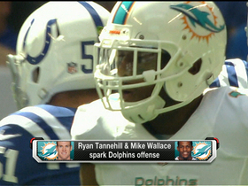 Video - Miami Dolphins wide receiver Mike Wallace heating up in Miami