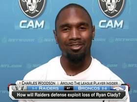 Video - Oakland Raiders safety Charles Woodson: Getting to Peyton Manning