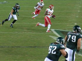 Video - Philadelphia Eagles quarterback Michael Vick throws second interception