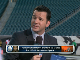 Video - How did the Indianapolis Colts running back Trent Richardson trade come together?