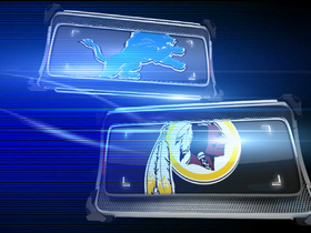 Video - 'Playbook': Detroit Lions vs. Washington Redskins