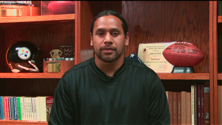 pittsburgh steelers safety troy polamalu set for rare