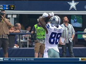 Video - Dallas Cowboys wide receiver Dez Bryant goes up for TD catch