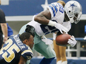 Video - Dallas Cowboys running back DeMarco Murray just gets the touchdown