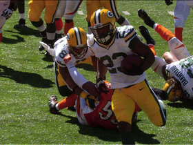 Video - Green Bay Packers running back Johnathan Franklin 2-yard touchdown