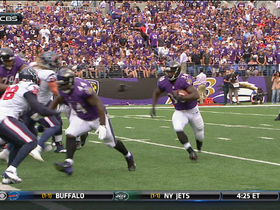 Video - Baltimore Ravens running back Bernard Pierce goal-line TD run