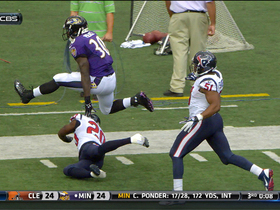 Video - Baltimore Ravens running back Bernard Pierce 25-yard run