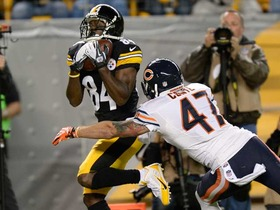 Video - WK 3 Can't-Miss Play: Pittsburgh Steelers wide receiver Antonio Brown's acrobatics