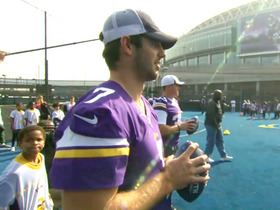 Video - Minnesota Vikings quarterback Christian Ponder: 'It's a business trip'