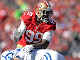 Video - Washington Redskins linebacker Fletcher: 'Not wise' for San Francisco 49ers to play linebacker Aldon Smith