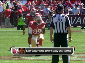 Video - San Francisco 49ers will pay Aldon Smith's salary