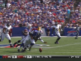 Manuel fumble recovered by Ravens
