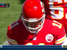 Video - New York Giants recover Kansas City Chiefs fumbled snap