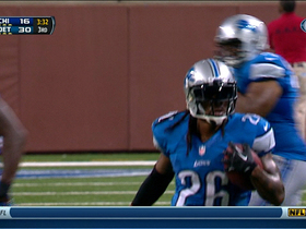 Video - Detroit Lions safety Louis Delmas picks off Chicago Bears QB Jay Cutler for 2nd time
